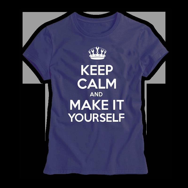 Keep Calm Customised Womenu0027s T shirts