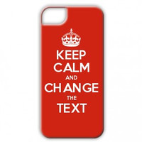 Keep Calm Customised 5 / 5s / 5c  / SE case