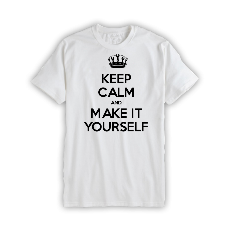 Keep Calm Customised Children's T-shirts - Keep Calm and Carry On