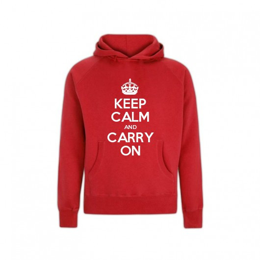 KEEP CALM KIDS CUSTOMISED HOODED TOP