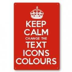 kcp metalsigns?t=1516707356 make keep calm gifts with the keep calm and carry on creator this