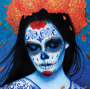 Calavera Azul - Artist's Proof - SOLD OUT