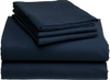 Extra large flannel massage table sheet. 100% Cotton no terylene. Navy Blue - no face hole