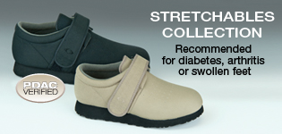 Stretchables Collection - T2000/T2400 - Diabetic Shoes