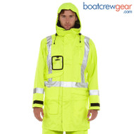 Burke Hi-Vis Safety Wet Weather Jacket