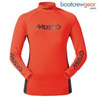 Musto Junior Long Sleeve Rash Vest SPECIAL