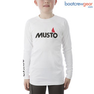 Musto Youth Insignia UV Fast Dry Rash Guard