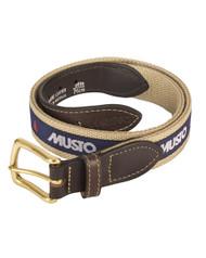 Musto Logo Webbing Belt