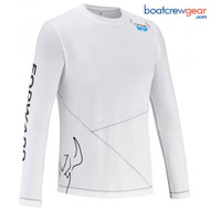 Forward Sailing Long Sleeve White T-Shirt