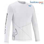 Forward Sailing Long Sleeve White T-Shirt