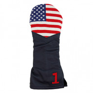 Smathers and Branson Leather Headcover - Big USA Flag