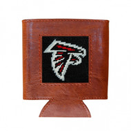 Smathers and Branson Needlepoint Can Cooler - Atlanta Falcons