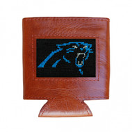 Smathers and Branson Needlepoint Can Cooler - Carolina Panthers