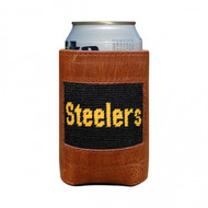Smathers and Branson Needlepoint Can Cooler - Pittsburgh Steelers