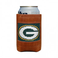 Smathers and Branson Needlepoint Can Cooler - Green Bay Packers
