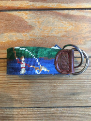 Smathers and Branson Key Fob - Fly Fishing Scene