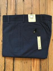 Charleston Khakis Navy Seersucker Stretch Pants