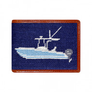 Smathers and Branson Power Boat Wallet - Navy