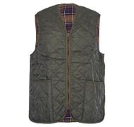 Barbour Mens Waistcoat / Zip-In Liner - Quilted