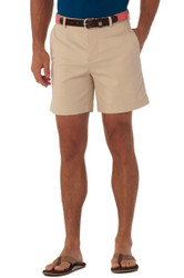 "Southern Tide - Channel Marker Summer Weight 7"" Shorts - Stone"