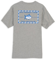 Southern Tide Original Skipjack Tee - Heathered Grey