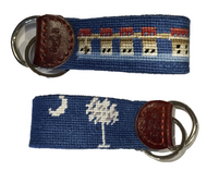 Smathers and Branson Custom Lake Murray Key Fob - Blueberry