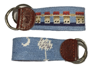 Smathers and Branson Custom Lake Murray Key Fob - Light Blue