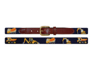 Smathers and Branson Needlepoint Childrens Belt - Construction