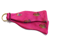 Craig Reagin Bowtie Key Fob - Fly Fishing Pink