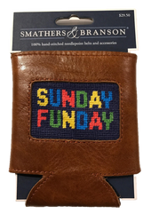 Smathers and Branson Needlepoint Coozie - Sunday Funday