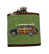 Smathers and Branson Woody Flask - Moss