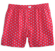 Southern Tide Skipjack Boxer - Channel Marker Red