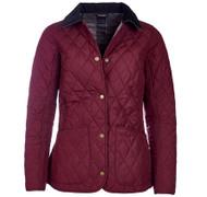 Barbour Montrose Quilted Jacket - Bordeaux