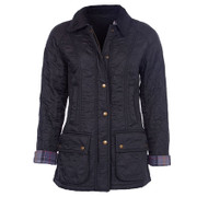 Barbour Beadnell Polarquilt Jacket - Black