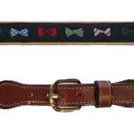 Canvas Web Belt - Bowtie
