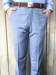 Ballin Soho Slacks - Blue Mix