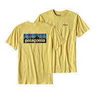 Patagonia Men's P-6 Logo Cotton T-Shirt - Yoke Yellow