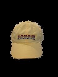 Smathers and Branson Lake Murray Needlepoint Hat - Butter