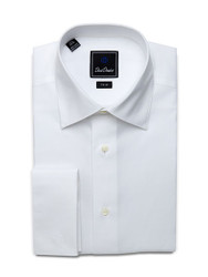 David Donahue Super Fine Twill Trim Fit Formal Shirt