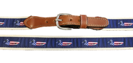 USA Mallards Belt - Navy