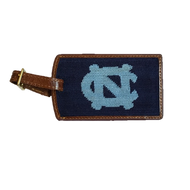 Smathers and Branson Needlepoint Luggage Tag - UNC