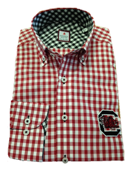 University Of South Carolina Gingham - Garnet