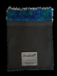 Brackish Pocket Square - Peacock