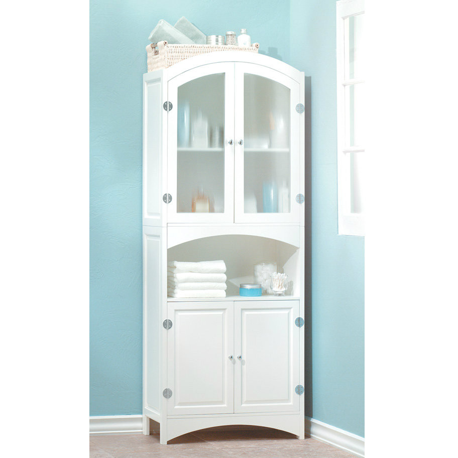 textured glass tall linen cabinet aewholesale