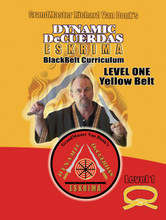 DeCuerdas Eskrima Training Manual- Level One Yellow Belt