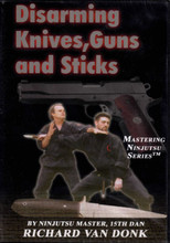 "Disarming Knives, Guns and Sticks DVD with ""collectors cover"" ONLY 1 AVAILABLE"
