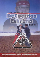 "DeCuerdas Eskrima Master Seminar ""out of print covers"" ONLY 1 SET AVAILABLE"