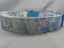 Beautiful Spring Lilacs Dog Collar