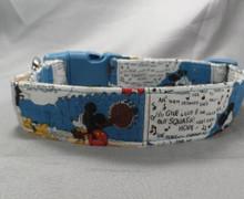 Mickey Mouse Comics Dog Collar