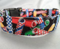 Fourth of July Fireworks Patriotic Dog Collar